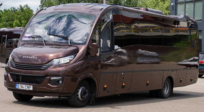 microbuze moderne transport persoane romania germania - romfour.com